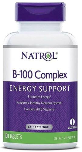 Комплекс из 100 таблеток с витаминами группы Б