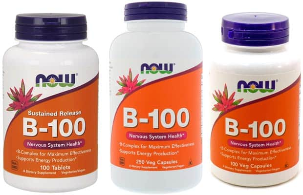 Разные варианты БАДа now b-100