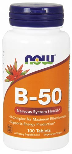 Витамины b-50 в таблетках 100