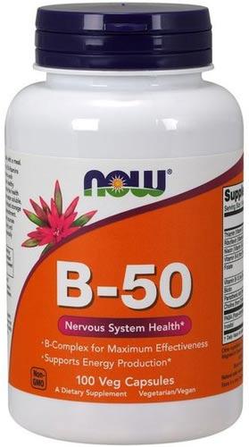 Витамины b-50 в капсулах 100