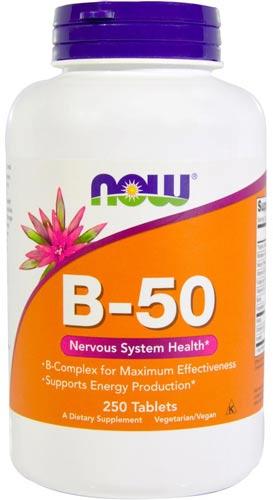 Витамины b-50 в таблетках 250