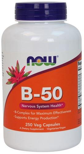 Витамины b-50 в капсулах 250