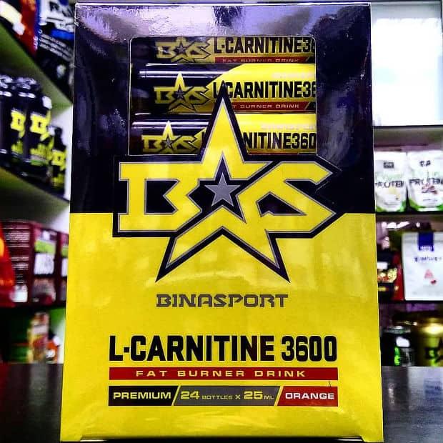 Упаковка с L-Carnitine Binasport