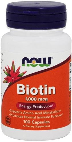 Добавка с Биотином 100 капсул