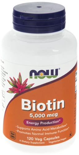 Добавка с Биотином 120 капсул