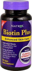Биотин Плюс от natrol в капсулах
