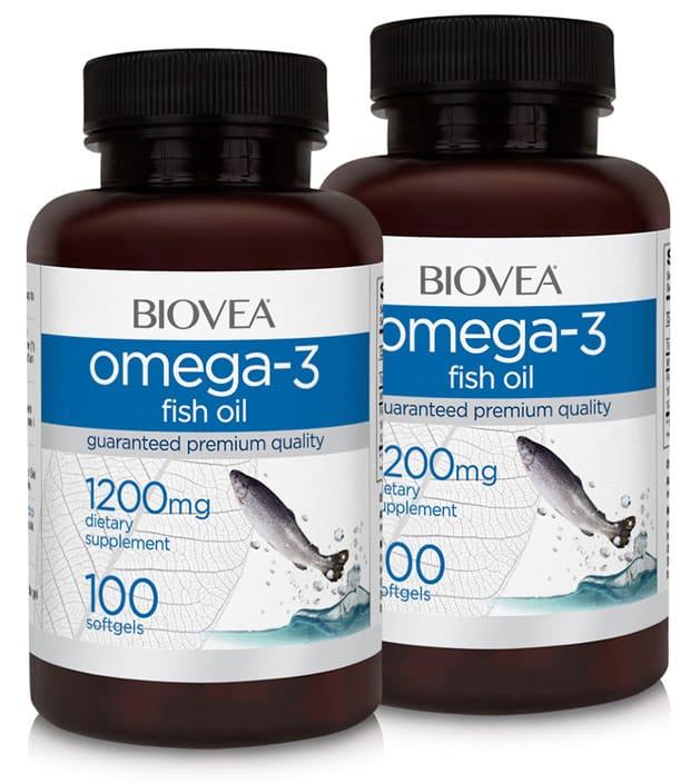 Две упаковки BioVea Омега 3