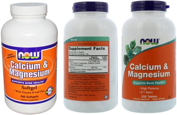Виды добавок calcium magnezium