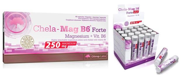 Две формы выпуска добавки chela-mag-b6