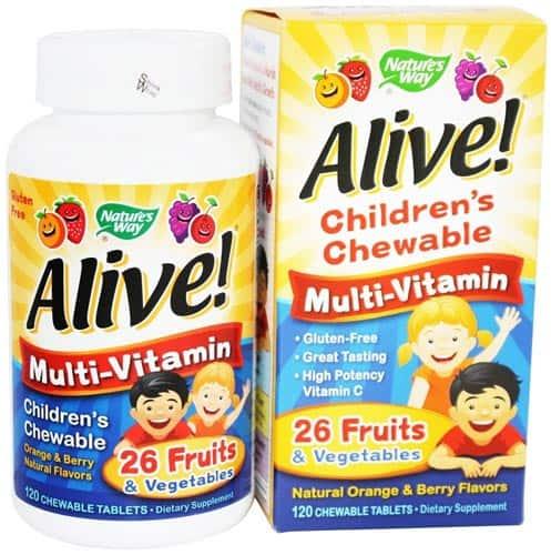 Упаковка витаминов Alive для детей