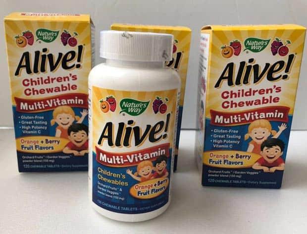 Упаковки комплекса для детей Alive
