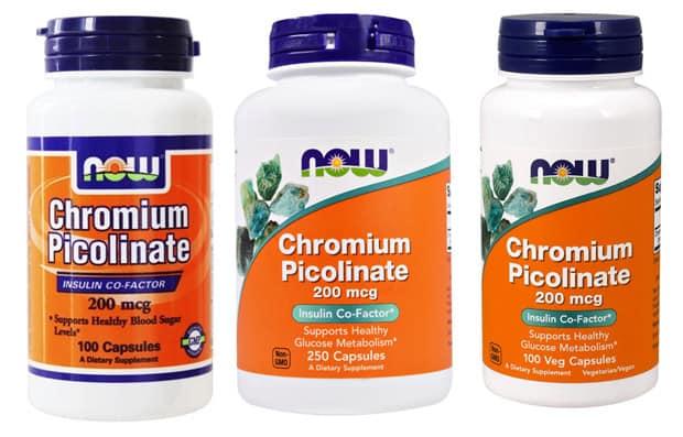 Три добавки Хромиум Пиколинат