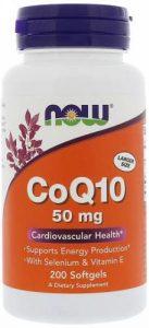 50 мг добавки с коэнзимом 200 капсул