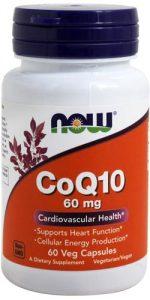 60 мг добавки с коэнзимом 60 капсул