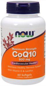 600 мг добавки с коэнзимом