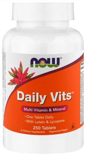 Упаковка daily vits 250 таблеток
