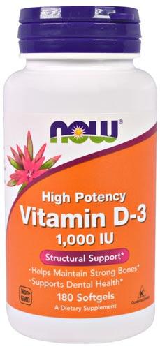 Витамин Д3 в форме капсул 180 штук