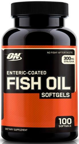 Добавка enteric coated fish oil в упаковке 100 капсул