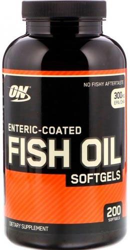 Добавка enteric coated fish oil