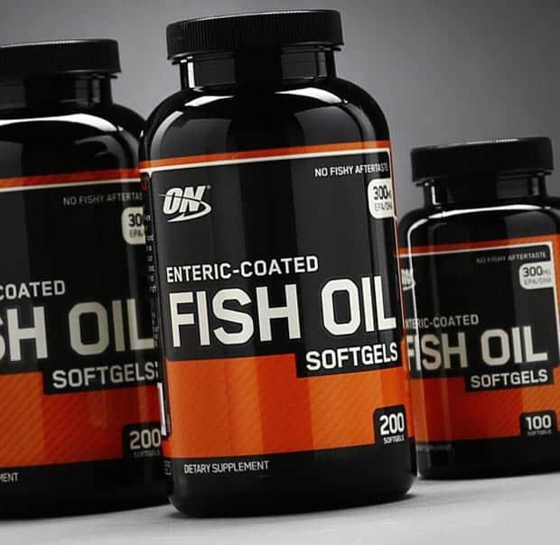 200 капсул БАДа enteric coated fish oil в трех упаковках
