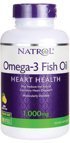 Капсулы добавки fish oil natrol