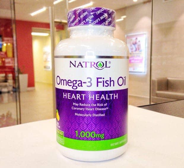 Капсулы для здоровья сердца fish oil natrol