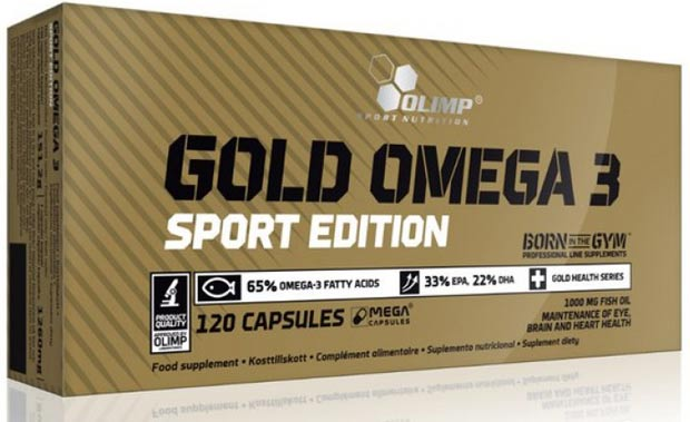 120 капсул gold omega 3 sport edition