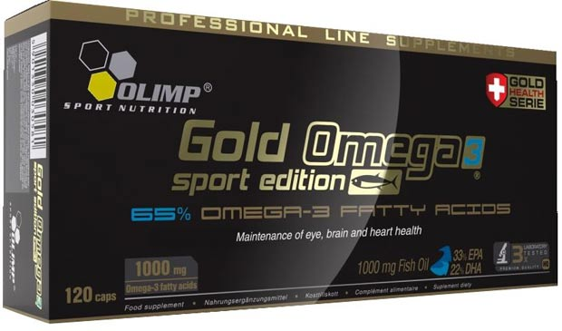 Черная упаковка gold omega 3 sport edition