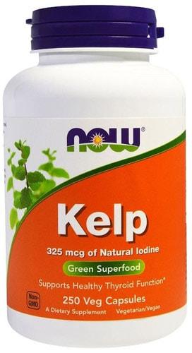Добавка kelp now в упаковке 250 капсул