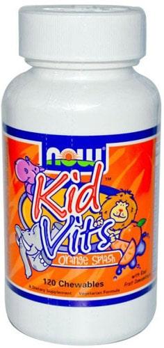 120 жевательных таблеток витаминов kid vits