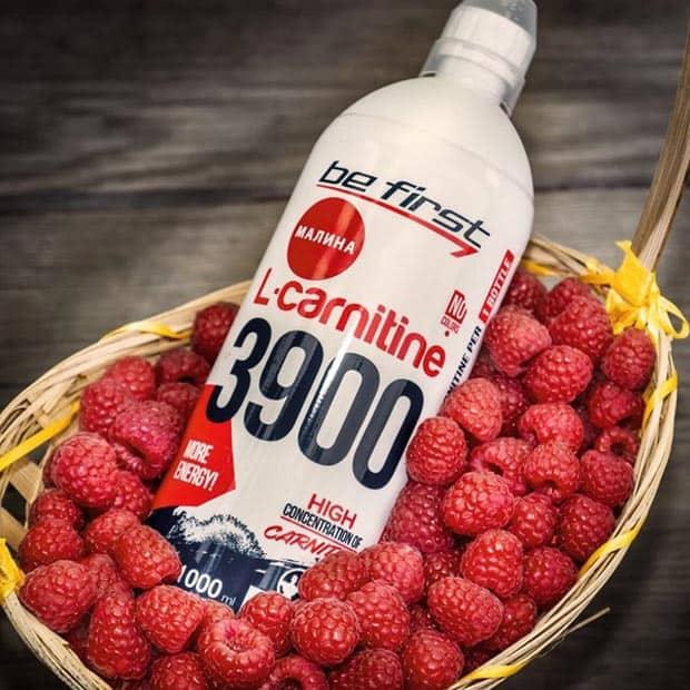 L-carnitine Be First 3900 со вкусом малины