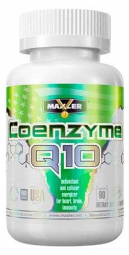 90 капсул maxler коэнзим q10 в белой упаковке