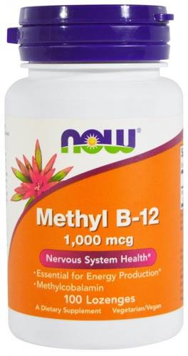 Упаковка из 100 таблеток now b-12 1000 мкг