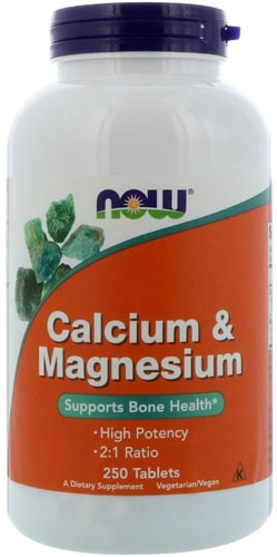 Кальций и магний 250 таблеток