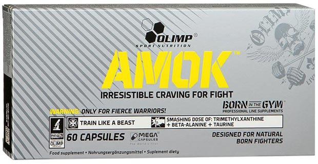 Комплекс из 60 капсул olimp amok