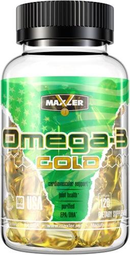 Упаковка omega 3 gold maxler