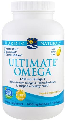Упаковка капсул ultimate omega