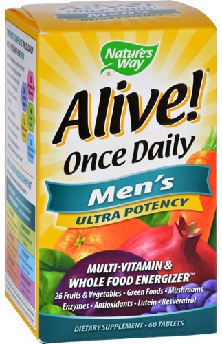Добавка Alive Once Daily Men's