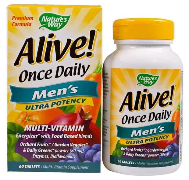 БАД из 60 таблеток Alive Once Daily Men's