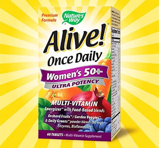 Биологически активная добавка Alive Once Daily Women's 50+