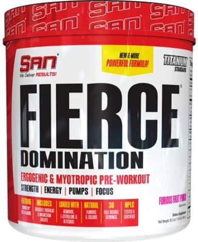Добавка san fierce domination со вкусом пунша в другой форме