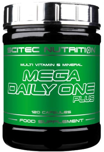 120 капсул scitec mega daily one plus
