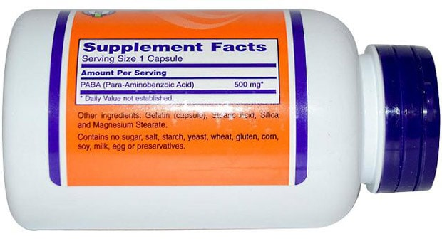 Состав БАДа с витамином B10