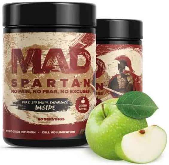 Предтреник spartan со вкусом яблока