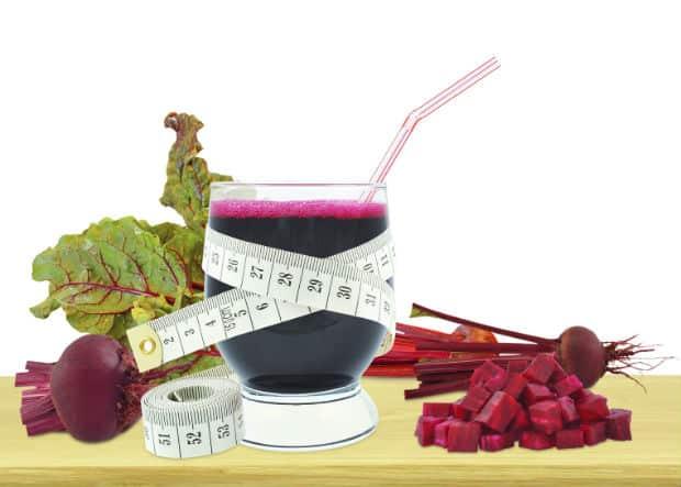 свекла, ботва и сок для снижения веса