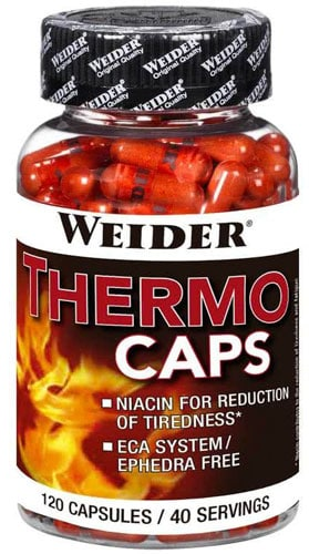 Упаковка Weider Thermo Caps