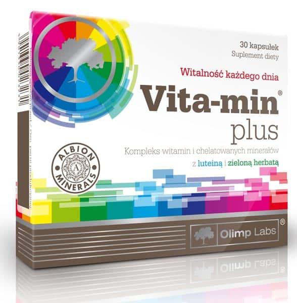 БАД из 30 капсул vita-min plus