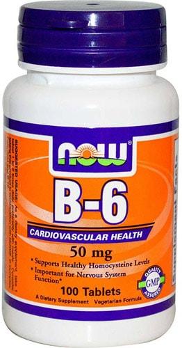 Витамин Б6 100 таблеток