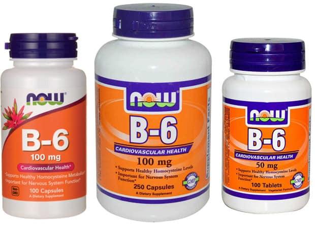 Витамин Б6 now