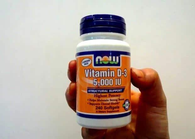 Витамин Д3 в форме капсул
